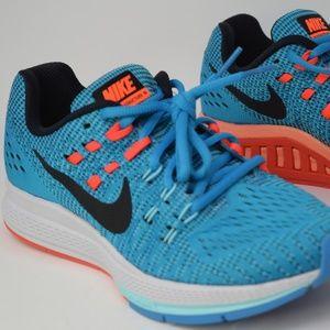 Nike Womens Air Zoom Structure 19 Run 806584-400